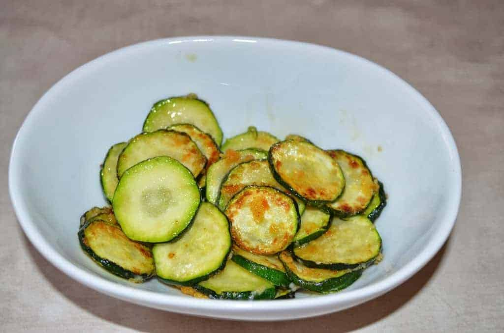 Fast, Easy Parmesan Zucchini