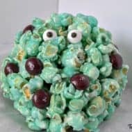 A Disney Halloween Treat: Monsters Inc. Popcorn Balls