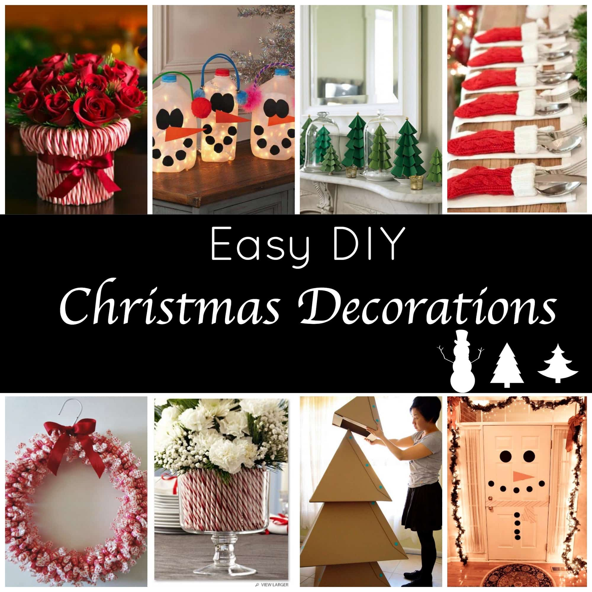 Homemade Decoration Ideas: 10 Tips For A Stress-Free Holiday Season