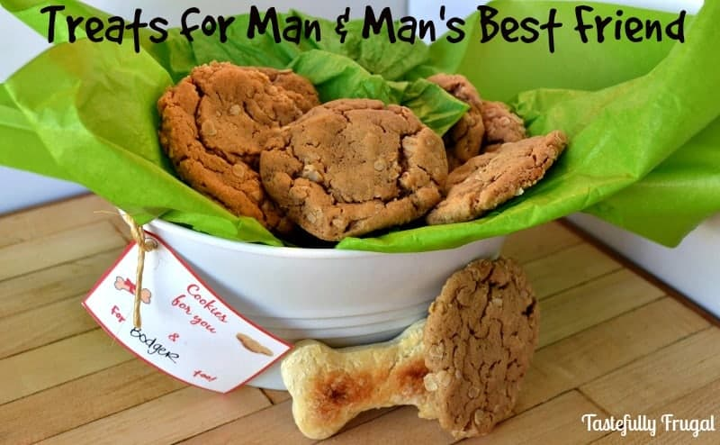 Gift Basket For Your Best Friend AND Man's Best Friend