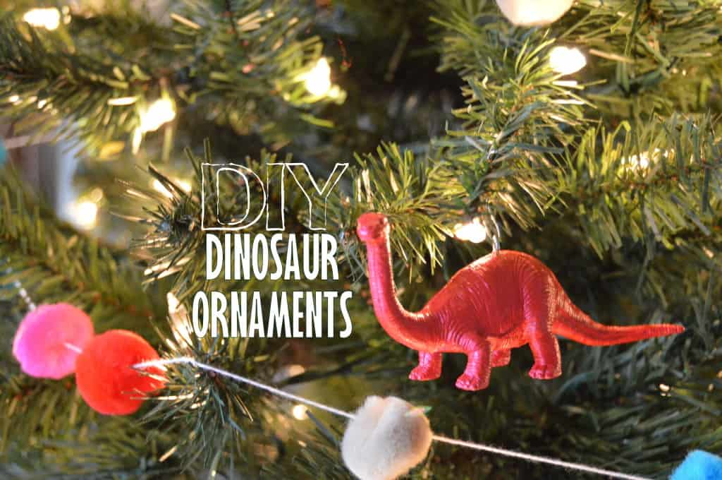 DIY Dinosaur Ornaments