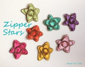 Zipper Stars from Jonesin For Taste