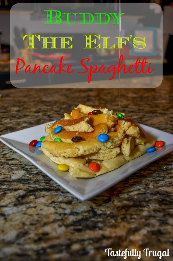 2 Frugal Days of Christmas Day 6: Buddy The Elf's Pancake Spaghetti
