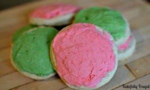 Light & Soft (Healthy) Sugar Cookies