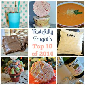 Tastefully Frugal Top 10 of 2014: Most Popular Posts For The Year