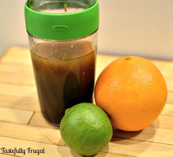 Citrus Vinaigrette: A great way to add a little zest to your salad