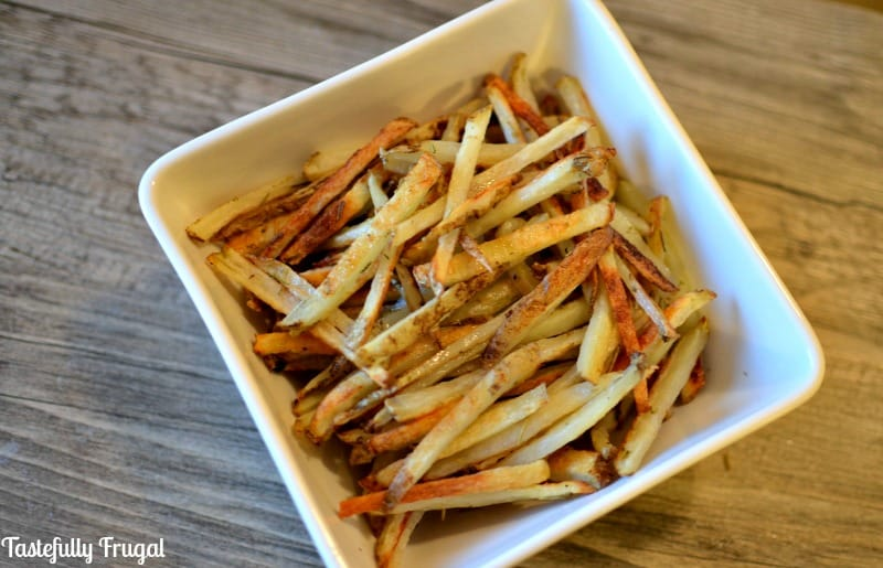 How To Cut Perfect French Fries {PLUS} CopyCat SmashBurger Fries