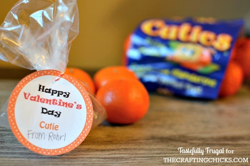 Cutie Valentine with FREE Printable Tags