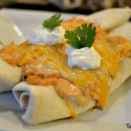 Monthly Ingredient Challenge: Honey Citrus Chicken Enchiladas
