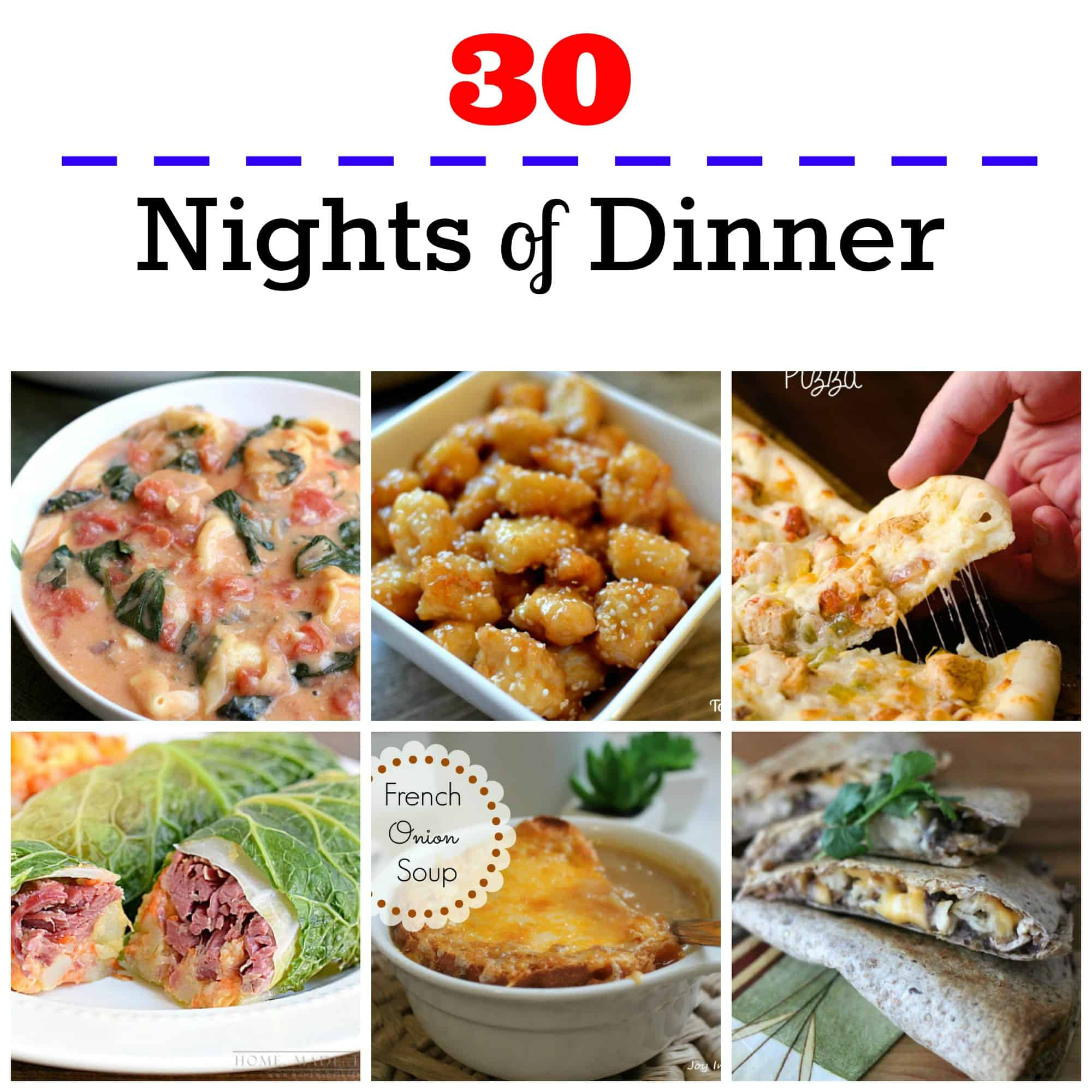 30 nights of dinners dont fall in the rut of eating out every night get 30 days forumfinder Image collections