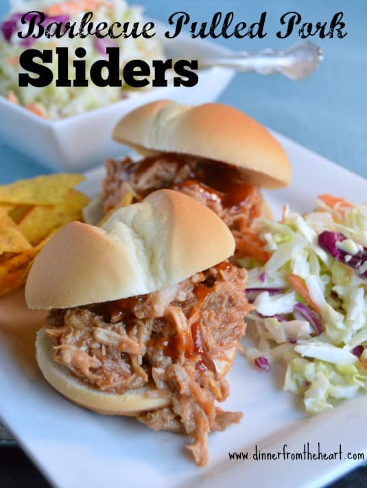 Barbecued Pulled Pork Sliders