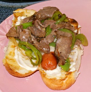 Philly Cheesesteak Hot Dogs