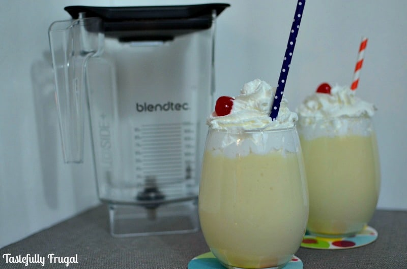 Copy Cat Dole Whips {and Blendtec Giveaway}