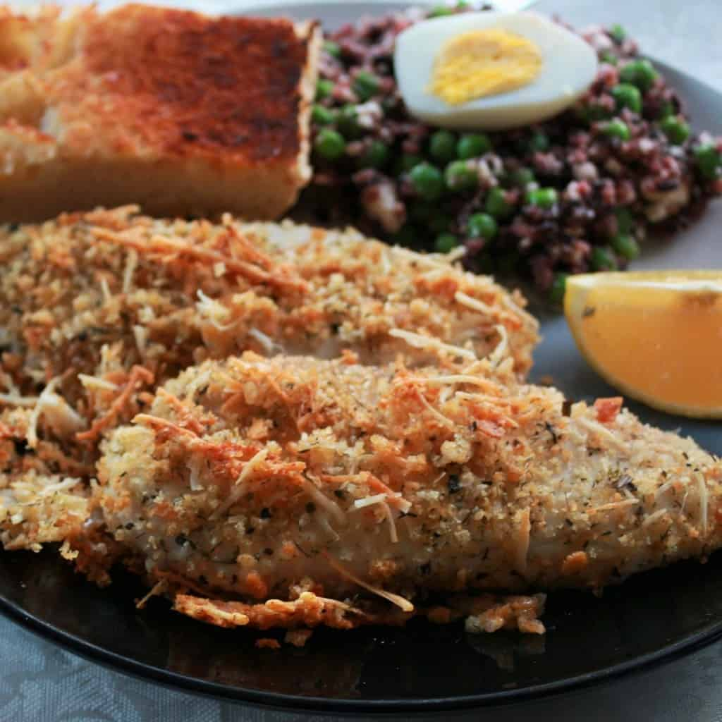 Breaded Tilapia Parmesan