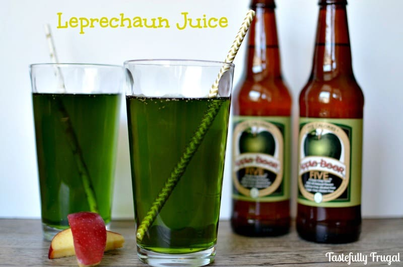 Green Sparkling Apple Juice