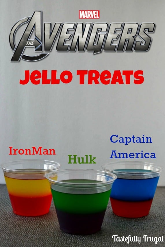 The Avengers Moves & Jello Treat: Learn to play like Hulk, Iron Man and Captain America and a delicious treat to follow.