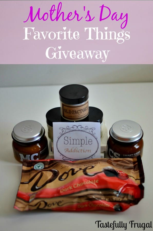 Mother's Day Favorite Things Giveaway: Pamper mom this year with some of my favorite gifts to give (and receive).