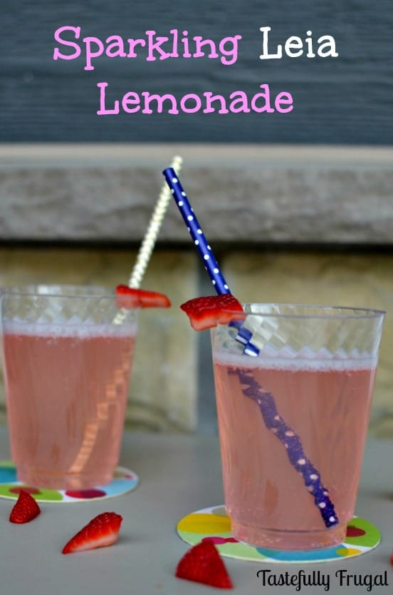 Sparkling Leia Lemonade: A sweet drink the Princess herself would love!