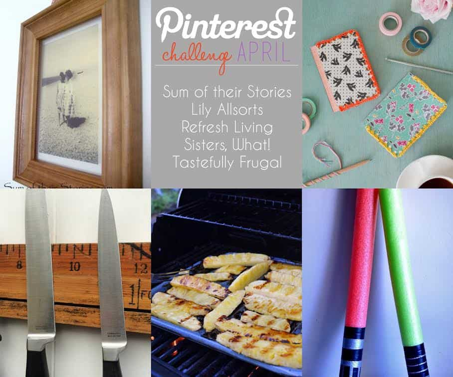 April Pinterest Challenge: Pool Noodle Light Sabers