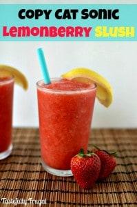 Copy Cat Sonic Lemon Berry Slush on tastefullyfrugal.org