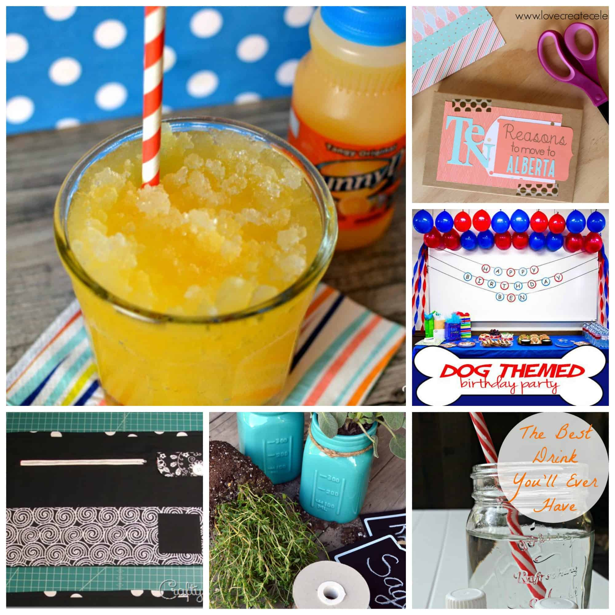 Talented tuesday link party 28 for Best drinks to have at a party