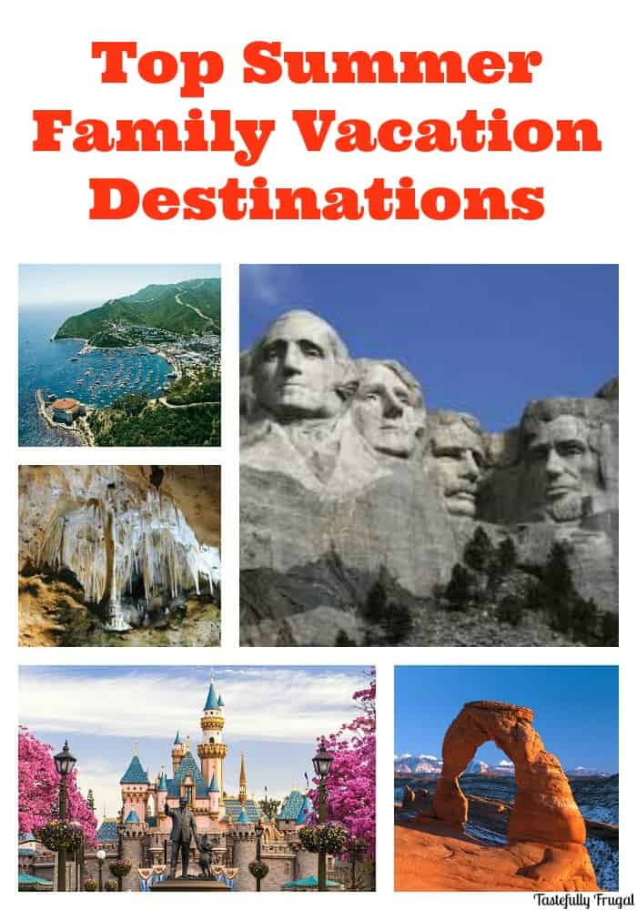 Top Summer Family Vacation Destinations