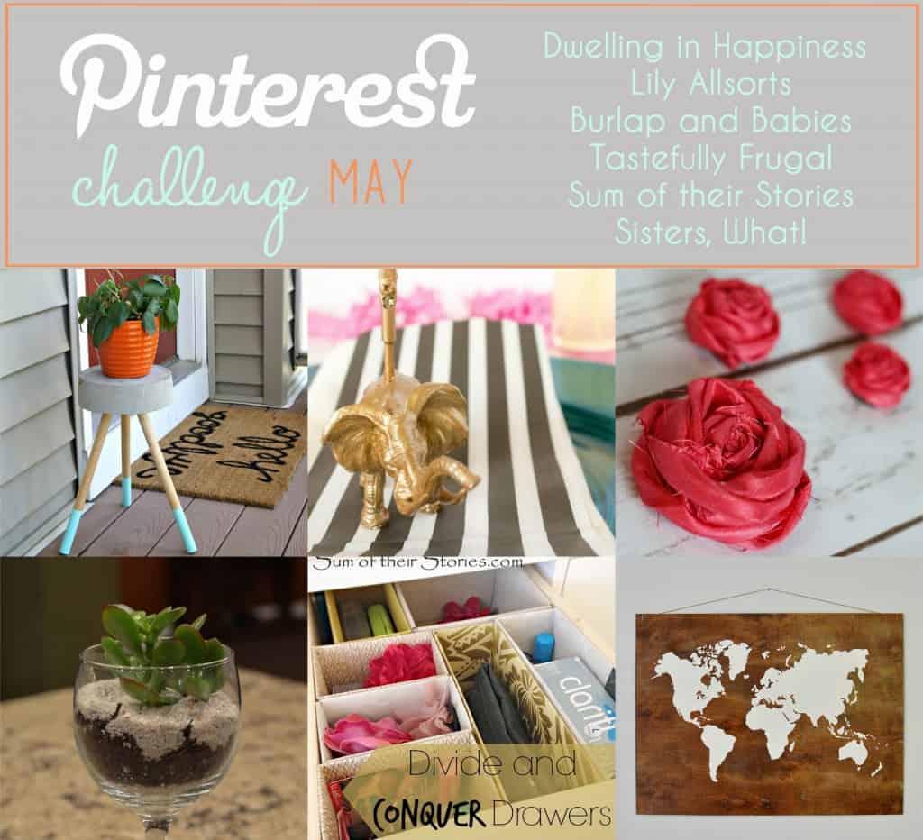 May Pinterest Challenge
