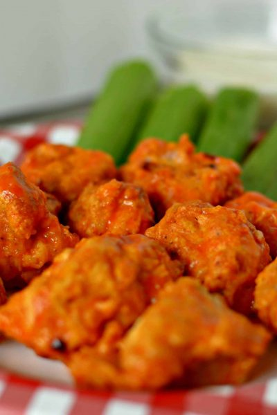 Copy Cat Chili's Boneless Buffalo Wings www.tastefullyfrugal.org