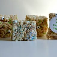 Monsters Rice Krispie Treats