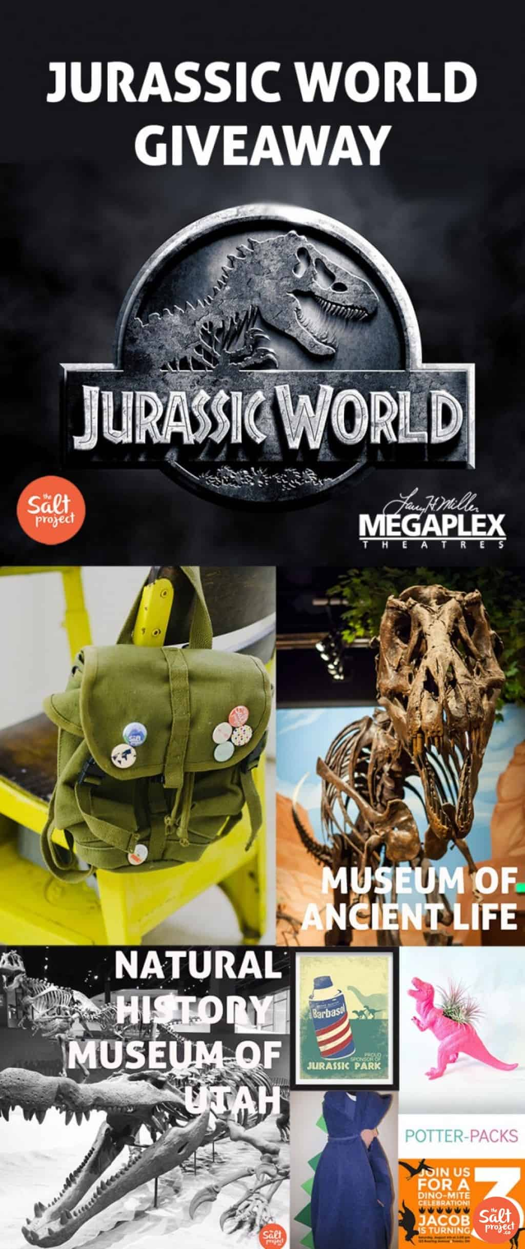 Dinosaurs In Your Backyard {AND Jurassic World Giveaway}