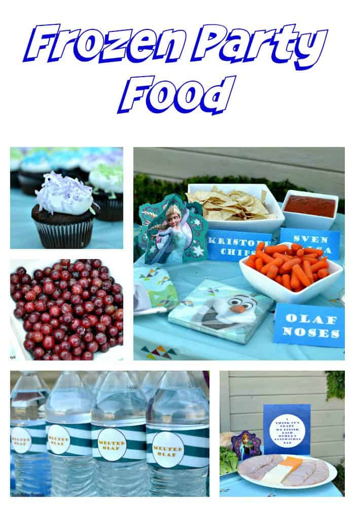Frozen Party On A Budget www.tastefullyfrugal.org #ad #BDayOnBudget #CollectiveBias @Walmart
