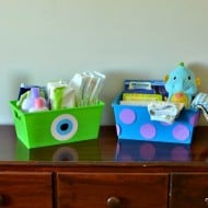 DIY Monsters Inc. Storage Boxes for $1