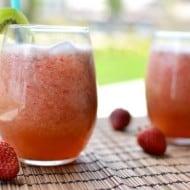 Strawberry Kiwi Agua Fresca