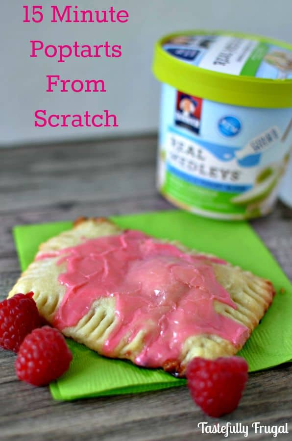 Make these poptarts from scracth in less than 15 minutes www.tastefullyrrugal.org #ad #QuakerRealMedleys #CollectiveBias @Walmart