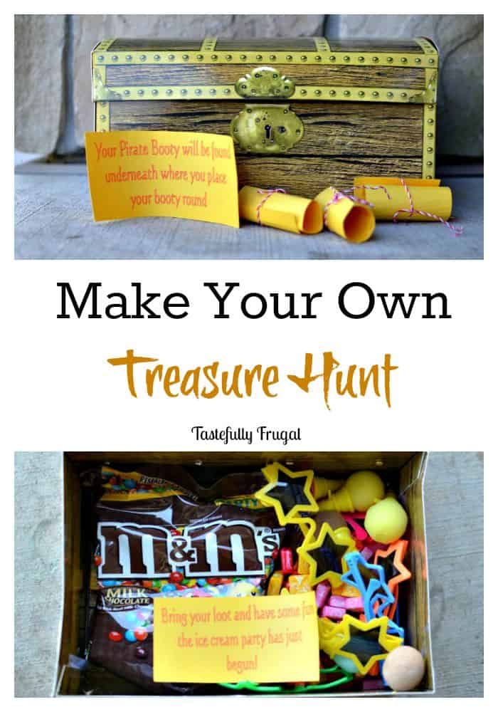 End of Summer Luau and Treasure Hunt AD #SummerFunshine #CollectiveBias