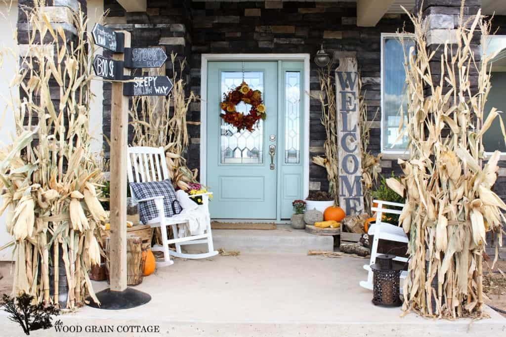 20 Fall Decor Ideas www.tastefullyfrugal.org