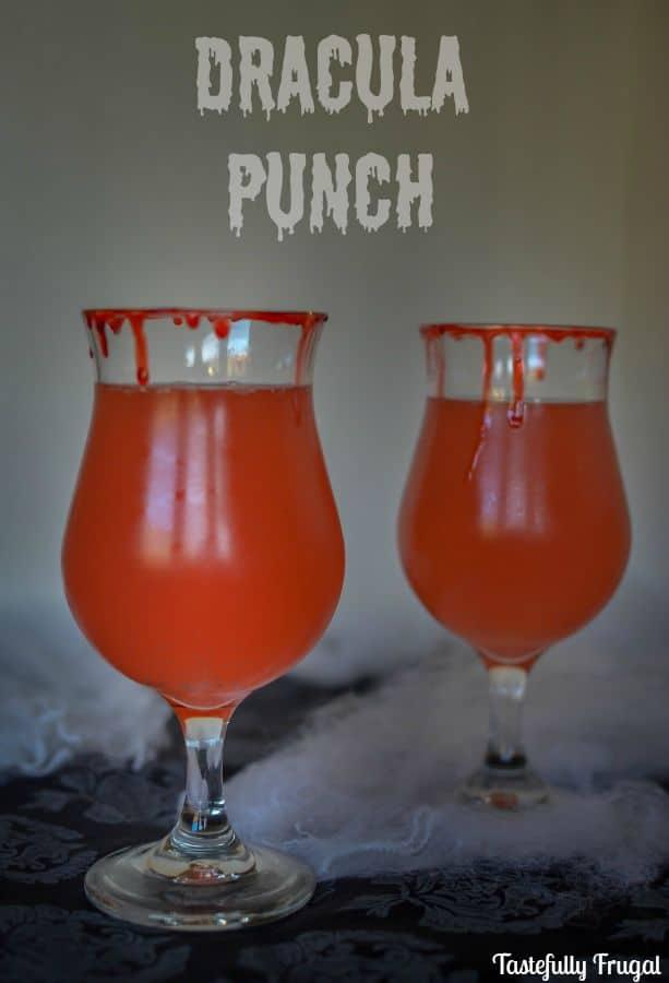 Dracula Punch www.tastefullyfrugal.org