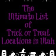 Ultimate List of Trick or Treat Locations in Utah 2016