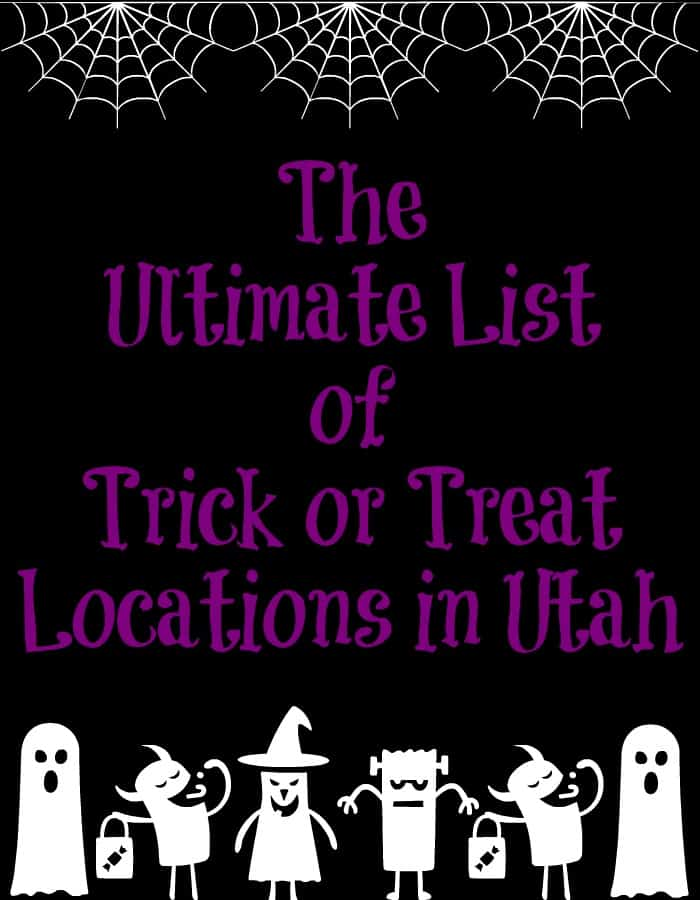 Ultimate List of Trick or Treat Locations in Utah 2016