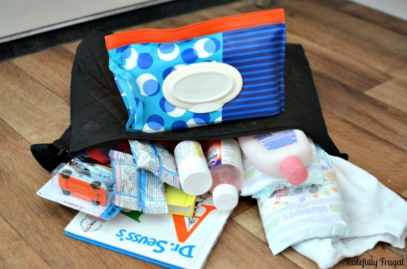 10 Essentials For Traveling With Babies and Toddlers   Tastefully Frugal ad #HuggiesForHolidays #CBias @Huggies