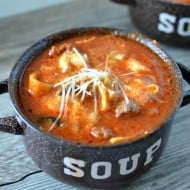 30 Minute One Pot Lasagna Soup