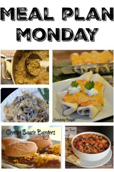 Meal Plan Monday #6 | Tastefully Frugal