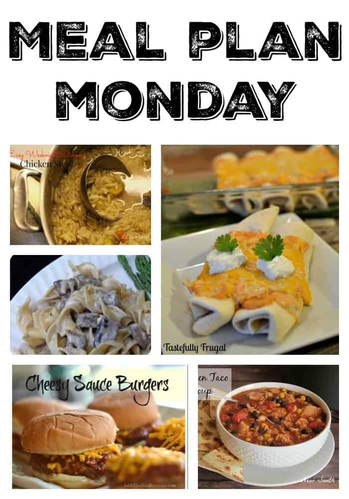 Meal Plan Monday #6
