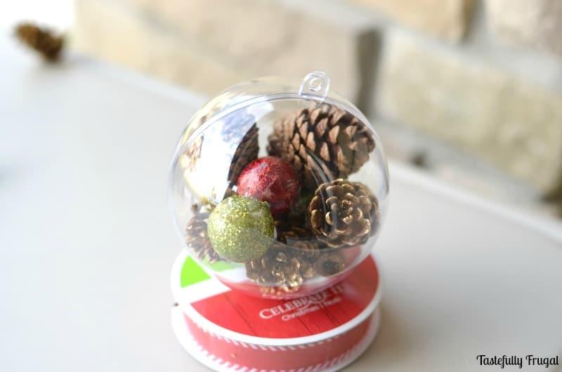 DIY Rustic Ornament   Tastefully Frugal