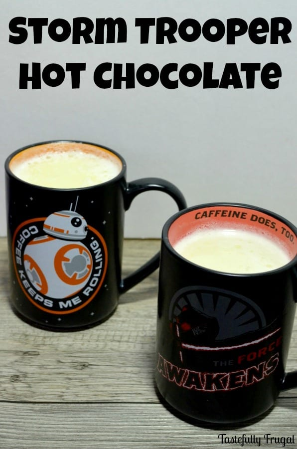 Storm Trooper Hot Chocolate | Tastefully Frugal ad #Hallmark