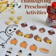 Thanksgiving Preschool Activities {AND Free Printables}