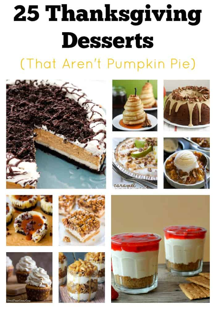 25 Alternatives to Pumpkin Pie |Tastefully Frugal