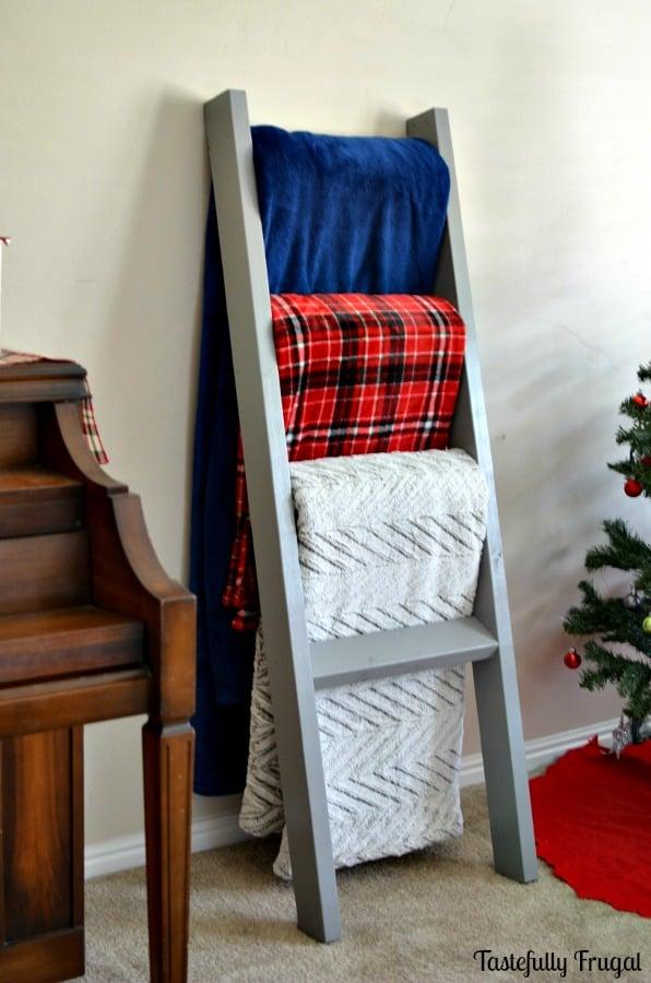 Diy Blanket Ladders Lolly Jane