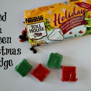 Christmas Fudge: A Bright & Fun Twist on A Favorite Recipe | Tastefully Frugal #ad #HolidayRemix
