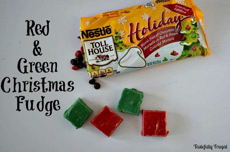 Christmas Fudge: A Bright & Fun Twist on A Favorite Recipe   Tastefully Frugal #ad #HolidayRemix